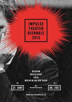 Work for the Impulse Theater Biennale 2013 by Fons Hickmann M23 studio (via It's Nice That).
