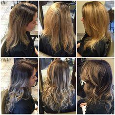 Deepened her roots to a less Maintenance look  #hairbykarleeann #ellemarielakestevens #ellemariekarlee #embracechangeatellemarie #balayage