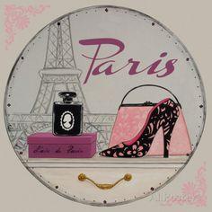 Paris Bling Bling I by Mercier