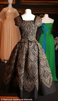 2/8/16. Coco Chanel to Christian Dior couture dresses dating back to 1800 go on display in Australia | Daily Mail Online