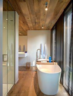 timber ceiling bathroom - Google Search