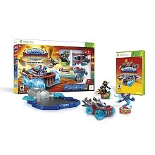 "Skylanders SuperChargers Starter Pack for Xbox 360 - Activision - Toys ""R"" Us Skylanders, Wii, Videogames, Jeux Xbox One, Got Game, Starter Set, Xbox 360 Games, Video Game Characters, Video Game Console"