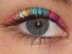 Rainbow Eye by Faith200922.deviantart.com on @deviantART