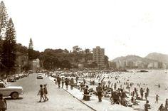 Niterói Praia das Flexas - 1963