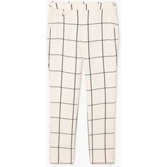 Check Trousers (4.330 RUB) ❤ liked on Polyvore featuring pants, bottoms, pantalones, mango trousers, checkered pants, checked trousers, checkerboard pants and pink trousers