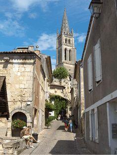 Saint-Emilion, France.