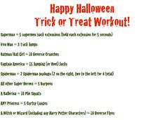 Halloween Workouts So Good, They're Scary!
