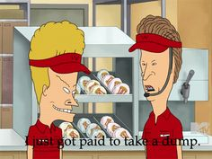 (Animated)   I love Beavis and Butthead!!!