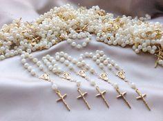 25 pcs Pearl First communion favors Recuerditos by AVAandCOMPANY, $17.99