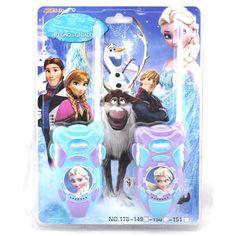 2 sztuk/partia Księżniczka Elsa Księżniczka Toy Walkie Talkie Interphone Intercom Elektroniczne Zabawki Dla Dzieci Gry Zabawki Dla Dzieci Dziewczyna Prezenty Zabawki # D