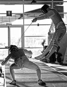 #fencing #foil #esgrima #florete