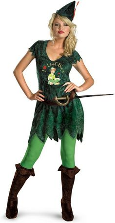 Sassy Peter Pan Adult Costume #neverneverland #disneycostume