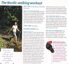 the nordic walking workout -  You have one body, care for it!