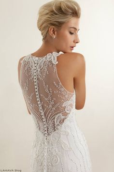 Gorgeous n' sexy backless wedding dresses collection