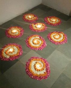 Latest Flower Rangoli Designs 2019: That Will Steal Your Heart Away!