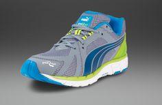 e1eb7cdd0a2c Mens Shoes - Puma Great Run Faas 600 S - Tradewinds Methyl Blue Lime