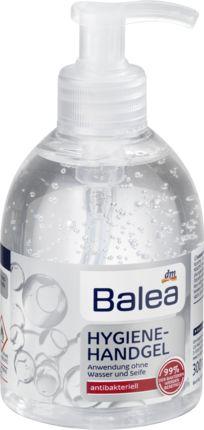 Das Balea Hygiene-Handgel entfernt effizient 99 % der Bakterien. Es ist ohne Wasser und Seife anwendbar und sorgt für hygienisch saubere Hände. Eine ausrei...