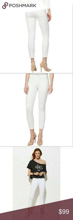 New! DL1961 Instasculpt Cropped Skinny Jeans NWT Create a sleek silhouette with these ankle-cropped skinny jeans from DL1961. Made from Instasculpt denim: smart denim that microsculpts your legs, butt and midsection.  Mid rise  Skinny fit through hips and thighs  Skinny leg  Zipper and button closure; belt loops  Five-pocket styling  Approximate inseam: 25 inches  11 inch leg opening  55% cotton, 30% Tencel lyocell, 13.5% polyester, 1.5% Lycra spandex.  Made with American cotton  Hand wash…