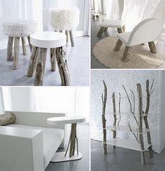 Unique drift wood furniture