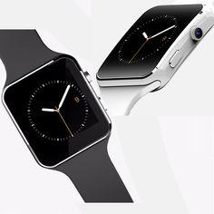 X6 Uhr Bluetooth SmartWatch MP3 Answer Call SIM TF Bluetooth Armbanduhr mit Kamera Phone Kamerad Android Phones Uhr //Price: $US $37.88 & FREE Shipping //     #meinesmartuhrende