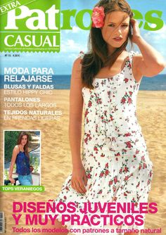 PATRONES magazine Casual fashion by patronescostura on Etsy, $16.50