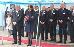 Crown Princess Mary of Denmark attends opening of the KFUM Soldier' housing for veteran families in Birkerød on October 23, 2015. Crown Princess Mary is patron for KFUM Soldiers Mission.