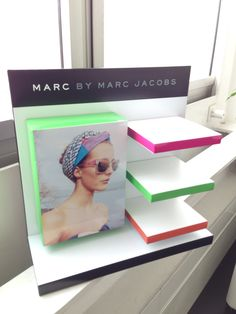 Client: Safilo for Marc Jacobs Pop display for Optician Stores