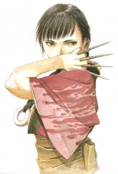 Hiroaki Samura, Blade of the Immortal, BotI Illustration Collection, Rin Asano