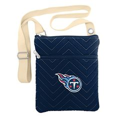 NFL Tennessee Titans ChevStitch Cross Body Purse *** Check out the image by visiting the link.
