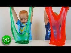Как сделать лизуна. Делаем лизуна в домашних условиях. Жвачка для рук Лизун / How to make slime - YouTube