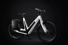 The New Urban e-Bike the first ever completely self-sufficient Series E-Bike with fully integrated solar panels for charging even when you're riding.