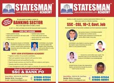 #Statesman #Academy - #Best #Banking #Coaching In Chandigarh Sector 34