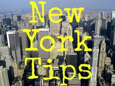 Top travel tips for New York City: http://www.ytravelblog.com/things-to-do-in-new-york-city/