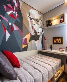 Star Wars... Como este quarto seria um sucesso aqui em casa. Amei Projeto Claudia Albertini Me encontre também no @pontodecor {HI} Snap: hi.homeidea http://ift.tt/23aANCi #bloghomeidea #olioliteam #arquitetura #ambiente #archdecor #archdesign #hi #cozinha #homestyle #home #homedecor #pontodecor #homedesign #photooftheday #love #interiordesign #interiores #picoftheday #decoration #world #lovedecor #architecture #archlovers #inspiration #project #regram #outubrorosa #canalolioli