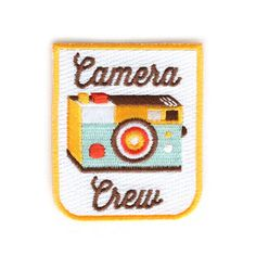 Camera Crew Patch