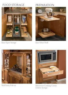 Cabinets and Hardware -- Specialty Kitchen Storage Cabinets
