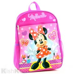 Minnie Mouse Backpack. #Backpacks #BackToSchool #Kids