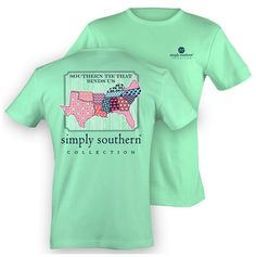 Simply Southern Preppy Southern Tie That Binds Us Anchor Girlie Bright T Shirt Available in sizes- Adult S,M,L, Simply Southern T Shirts, Preppy Southern, Southern Prep, Southern Shirt, Southern Marsh, Southern Tide, Southern Belle, Southern Accents, Southern Comfort