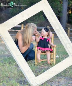 Mommy and baby photo idea.  Outdoor photography
