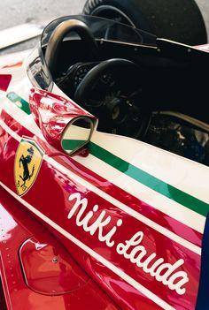 Leggendario – 1976 Ferrari 312 – Niki Lauda – 2018 Rolex Monterey Motorsports Reunion – Photo by Trevor Yale Ryan Rolex, Vintage Racing, Vintage Cars, James Hunt, Formula 1 Car, Racing Events, Ferrari F1, F1 Racing, Cool Cars