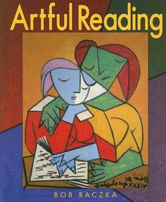 Artful Reading by Bob Raczka is a perfect combination of promoting an appreciation for art and a love of reading. The concept is simple with each page showcasing a painting of someone reading. While the text suggests what type of reading the painting is showing, it's still up for the reader to go deeper and decide what they are seeing.