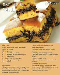 Indonesian Desserts, Asian Desserts, Indonesian Food, Easy Desserts, Delicious Desserts, Donut Recipes, Snack Recipes, Dessert Recipes, Cooking Recipes