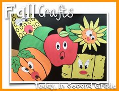 Crazy for Fall! These crafts are perfect for little learners. They come with fun Fall writing activities too!