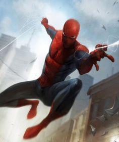 #Spiderman #Fan #Art. (Spider-Man) By: Francesco Mattina. (THE * 5 * STÅR * ÅWARD * OF: * AW YEAH, IT'S MAJOR ÅWESOMENESS!!!™)[THANK U 4 PINNING!!!<·><]<©>ÅÅÅ+(OB4E)   https://s-media-cache-ak0.pinimg.com/564x/55/d5/2a/55d52aea8d45ba93cc046704d613cf09.jpg