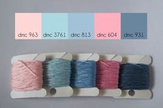 Pretty Palette: Cotton Candy by Jen at Lovely Messes