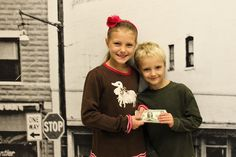 Brother and sister forego birthday parties and donate the money to the Mission.