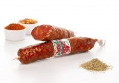 Salame Ventricina Abruzzese #salumi #salami #salame #salameabruzzese #Abruzzo #delicious #food #meat #meatspecialities #specialities #gourmey #italyfood #salumificiosorrentino