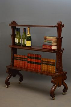 William IV 3 Tiere Bookcase / Stand - Antiques Atlas