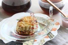 strawberry and cream scones
