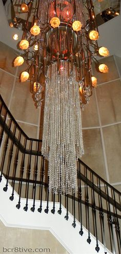 Stunning Crystal Chandelier in the Beauty and Essex, in Stanton, NY